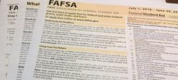 Financial Aid forms complete – now what?